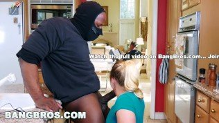 BANGBROS – Strong Arming AJ Applegate's Tight Pussy Behind BF's Back