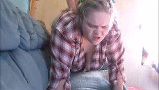 White Trash rednecks daughter wants stepdad to impregnate her