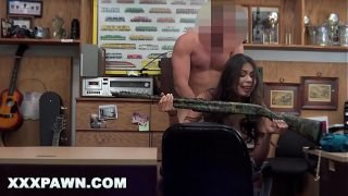 XXX PAWN – Poca-Hot-Ass Walks Into My Pawn Shop Trying To Sell A Gun